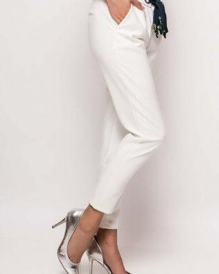 Elegantné nohavice White