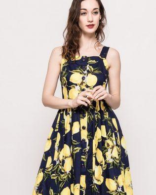 Šaty Lemons