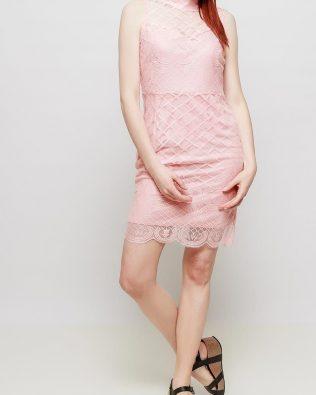 Mini šaty Salmon