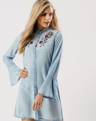 Košeľové šaty Jeans