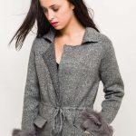 Kabátik Grey fur