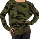 Sveter Armygreen