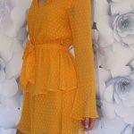 Šaty Mustard