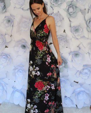 Maxi šaty Black
