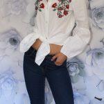 Košeľové šaty Flowers