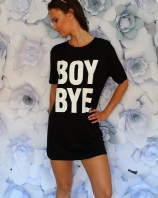 Tričko-šaty BOY BYE