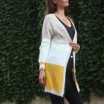Kardigán Tricolor yellow