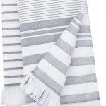 Osuška Grey stripes